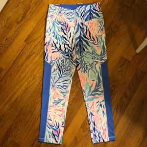Lilly Pulitzer Kaleidoscope Coral HR Leggings